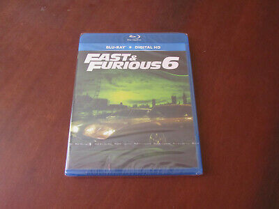 FAST AND FURIOUS 6 - Blu-Ray + Digital HD encore sous blister