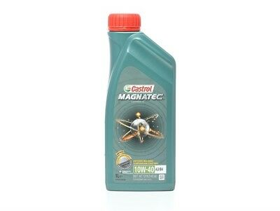 Castrol Magnatec 10W-40 Part Synthetic Engine Oil ACEA A3/B4 10W40 1 Litre 1L