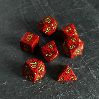 Speckled Poly 7 Set Strawberry