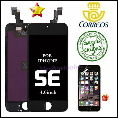 Pantalla iPhone SE LCD Display Retina Pantalla Front Tactil Digitalizador Negro