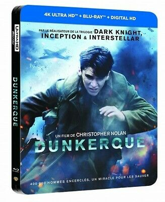 Dunkerque BLU-RAY STEELBOOK NEUF SOUS BLISTER