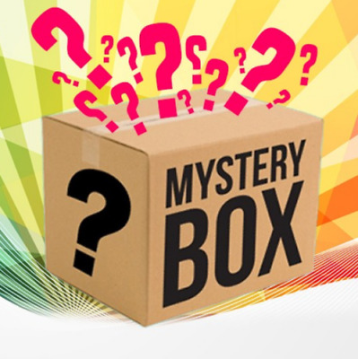 Mystery box New/used electronics,clothing,consoles,games,dvds Minimum 7 Items