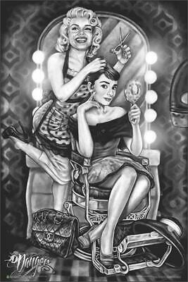 Marilyn & Audrey Barber Shop by: James Danger Harvey