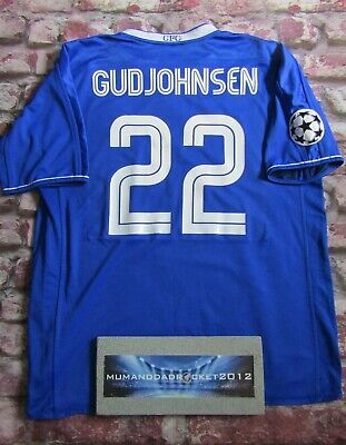 1b074cb45d6 Eidur Gudjohnsen Chelsea Champions league football Shirt xl MENS jersey