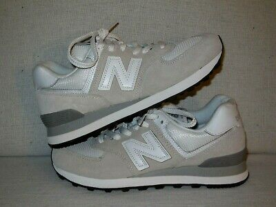 detailed look be491 c2e00 NEW BALANCE CLASSIC WL574EW Beige Suede Leather ATHLETIC Shoes Women's SZ 8  B