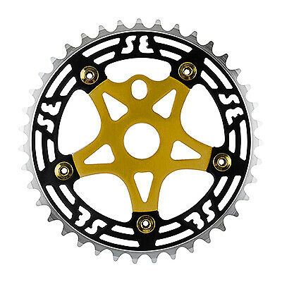 """Chainring Sprockets SE Bikes Alloy 33T 1//2/"""" x 1//8/"""" Chains Silver Gold Blue Red"""