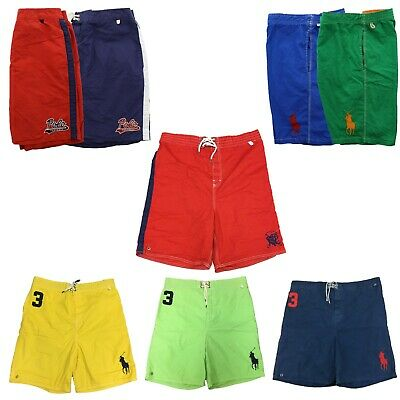 c4c24226a0 Polo Ralph Lauren Mens Big and Tall Logo Swimsuit Shorts Lined Swim Trunks  Pony