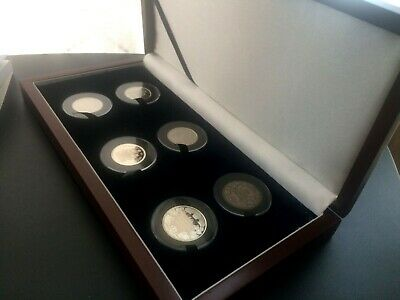 2012 1908-1998 Canada 50 cent RCM custom coin set silver base metal