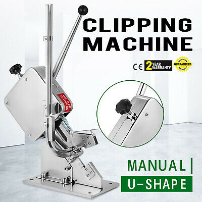 Sausage Clipping Clipper Packing Machine SU-50 U-shape Store Sealer Operation
