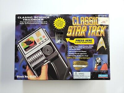Vintage Classic Star Trek Classic Science Tricorder By Playmates (133326)