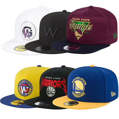 premium selection 150b1 b9675 New Era Golden State Warriors Hat Cap Snapback 59FIFTY 9FIFTY NBA Adjustable