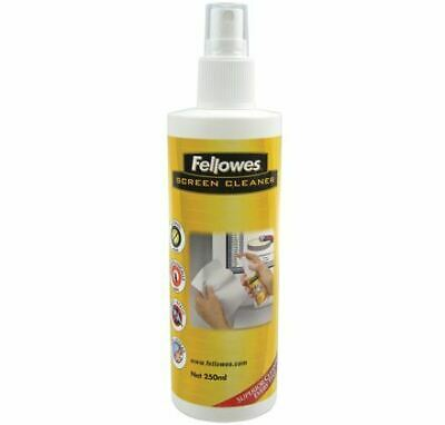 Fellowes 250ml Screen Cleaning Spray LCD/TFT/Plasma Equipment cleansing air