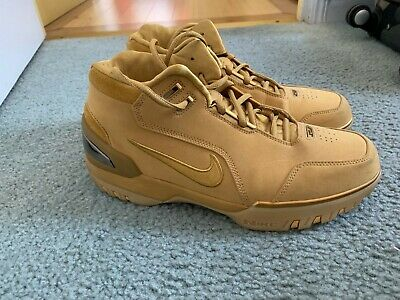 reputable site f4337 92d32 Nike Men's Air Zoom Generation ASG QS Size 9.5 Lebron 1 Wheat Gold  AQ0110-700
