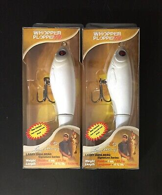 (2) New River2Sea Whopper Plopper 110 Powder Topwater Fishing Bait Lot