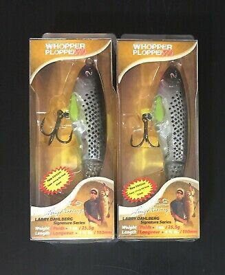 (2) New River2Sea Whopper Plopper 110 T1000 Topwater Fishing Bait Lot
