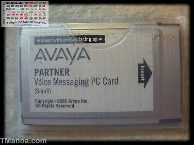 Avaya Partner Voice Messaging PVM PCcard 108505298 700429384 700226517 700374671