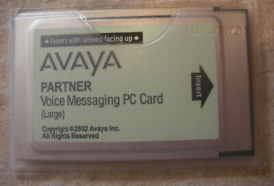 Avaya Partner Voice Messaging VoiceMail Large PC Card CWD4B 700226525 108505306