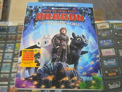 New Sealed How to Train Your Dragon: The Hidden World (BLU-RAY/DVD/DIG., 2018 )