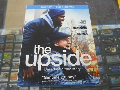 The Upside (Bluray + DVD + Digital) NEW with slipcase