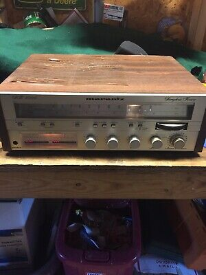Vintage Marantz SR4000 Silver Face Stereo Receiver Tested Works SCP