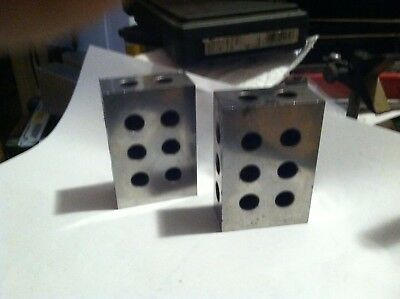 ! ,2,3 Machinist Precision Blocks ( within in at least .0005 of each other if no