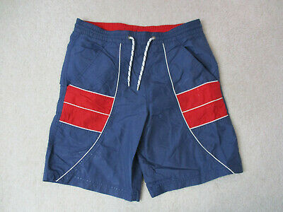 f17db07ff3bdf Tommy Hilfiger Board Shorts Adult Small Blue Red Bathing Suit Shorts Mens  90s *