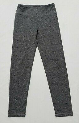 Justice Girls Leggings Size 10 Charcoal Gray Athletic