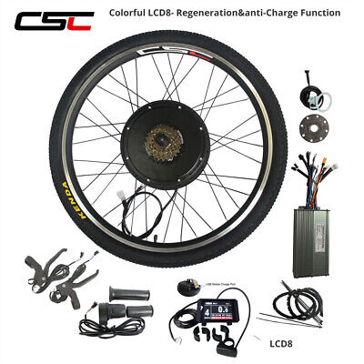 ELECTRIC E BICYCLE Front Wheel Conversion Kit 48v 500w 26
