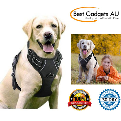 Front Range Dog Harness No-Pull Pet Vest Adjustable Easy Control Large Size