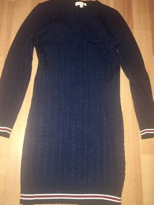 80f2cb51c47 Gucci Girls Navy V-neck Sweater Dress Sz 5T Great Condition! Must See!