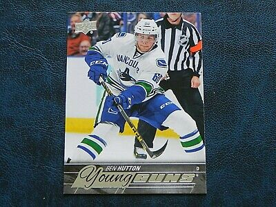 2015-16 15/16 Upper Deck UD YOUNG GUNS #232 Ben Hutton Vancouver Canucks