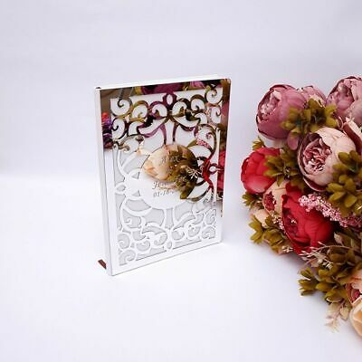 Custom Wedding Signature Guest Book Blank Pages Personalized Books Party Favors