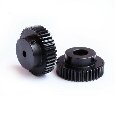 1.5 Module 12T-60T 45# Steel Spur Gear, With Step Motor Pinion Transmission Gear