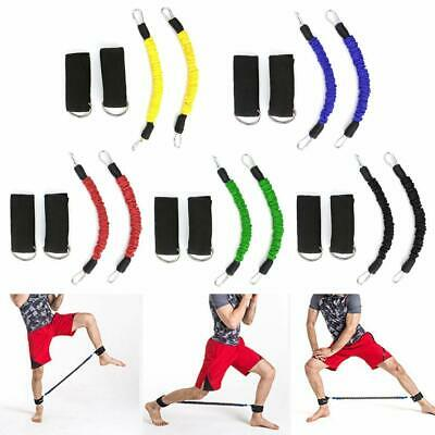 Speed Training Ankle Straps Leg Resistance Band Stretching Kinetic Rope Workout