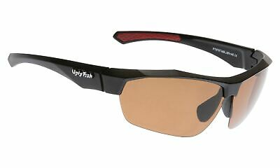 NEW Ugly Fish Polarised Sunglasses PT6797 Black/Brown
