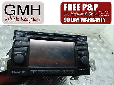 Nissan Note Radio Fm/Am Aux Sat Navigation Cd Player Head Unit 2004-2013‹