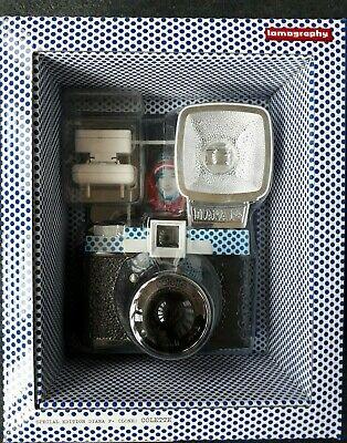 Diana F+ Lomography Camera And Flash (Colette Edition) With Film