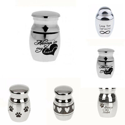 5 Types Mini Urn for Ashes Cremation Memorial Small Keepsake Ash Container Jar