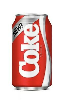 One 2019 Can of New Coke From Stranger Things Season 3 1985 Limited Edition Set
