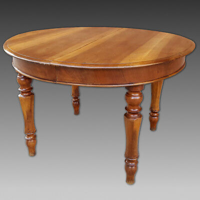 Antique Louis Philippe extendible Table in Walnut - Italy 19th century