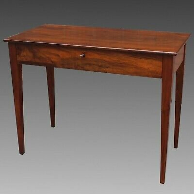 Antique Console Table writing desk in Walnut - Italy 19th century