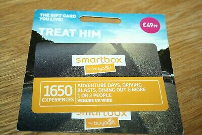 Smartbox by Buyagift Experience Day £49.99 Gift Voucher UK Wide