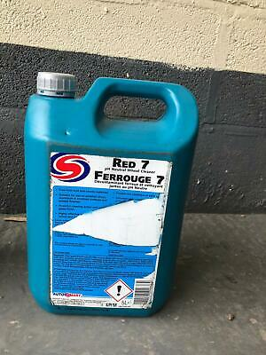 Red 7 pH neutral wheel cleaner 5L