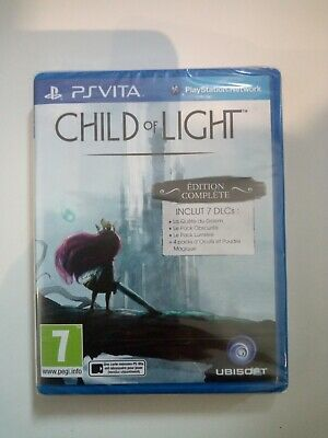 child of light édition complète ps vita psvita neuf sous blister new