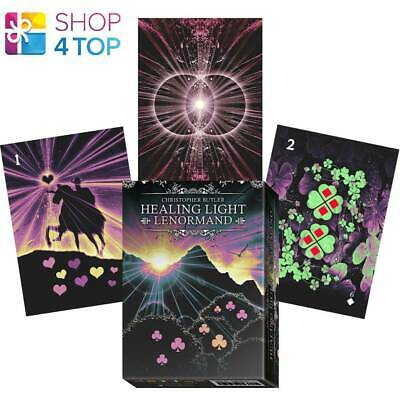 Healing Light Lenormand Oracle Card Deck Lo Scarabeo Christopher Butler New