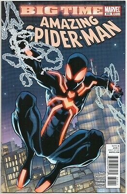 The Amazing Spider-Man #650 / 1st App Spidey Stealth Suit / Marvel Comics 2011