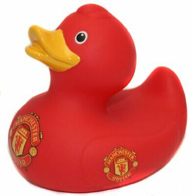 Man United Bath Time Duck - Official Manchester United Rubber Duck - Ideal Gift