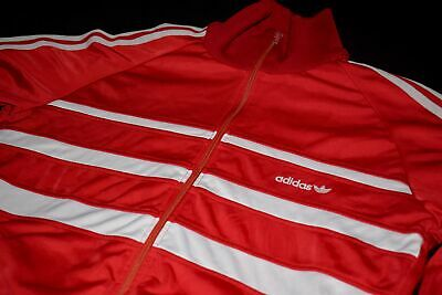 Adidas Trainings Jacke Sport Jacket Track Top Casual Style 80s Vintage Cupro 44