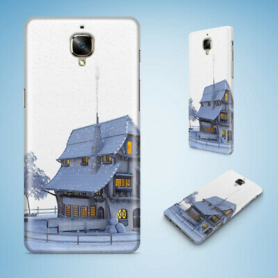 Oneplus Phone Case Cover Hard Back|Snow House