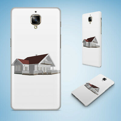 Oneplus Phone Case Cover Hard Back|House